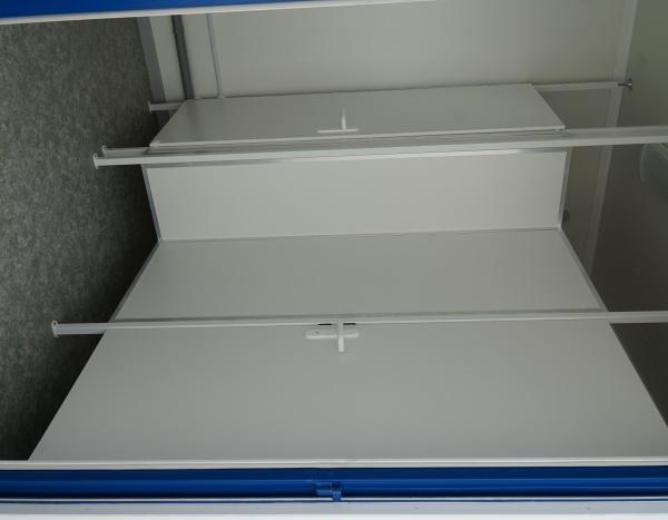 Module sanitaire sur mesure de 600 x 245 cm