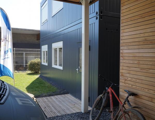 Zone de production sur 2 étages de 144 m²