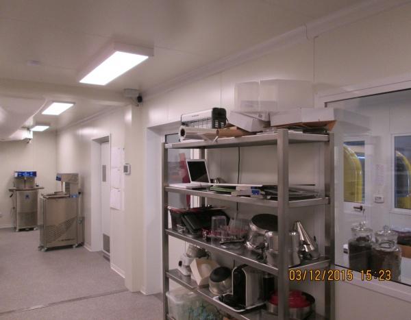 Atelier de production de pralines