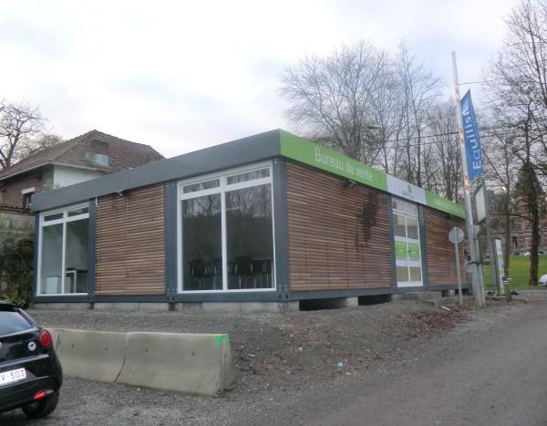 R alisations modules sur mesure conteneurs techniques - Bureau de vente immobilier ...
