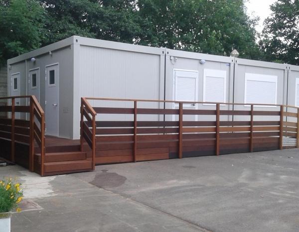Réalisation d'une garderie pour enfants 72 m²