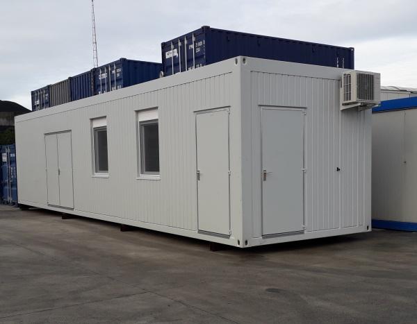 Container de 12 m  pour une station de bio-méthanisation