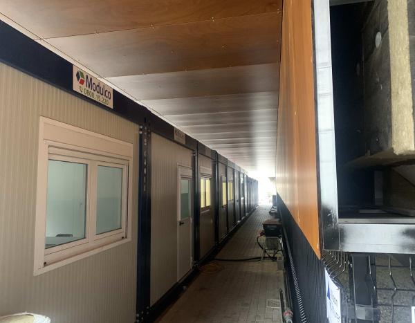 Kantoren en containers