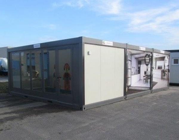 (L69V) 600 cm x 900 cm Modules vitrine Premium
