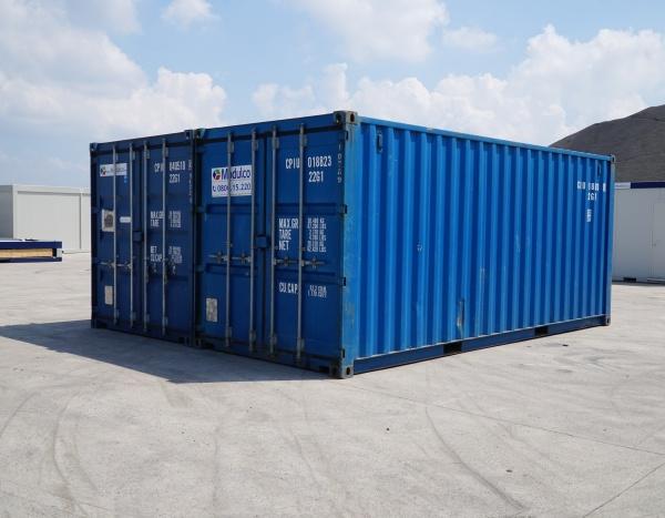 """Ospslagcontainer 40""""  2 zeecontainers geassembleerd (+/- 29,60 m²)"""