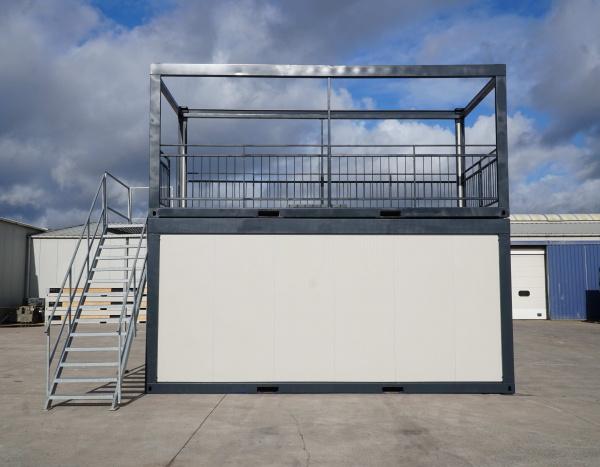 ( M63T) Terrasmodule +/- 600x300 cm  ( +/- 18,00 m² )