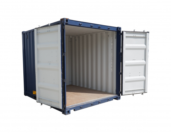 Opslagcontainer 10'' ( +/- 7,2 m² )