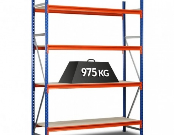 rek minipal voor opslagcontainers 500 cm