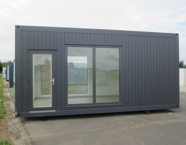 Nieuw Premium beglaasd verkoopkantoor 18 m²