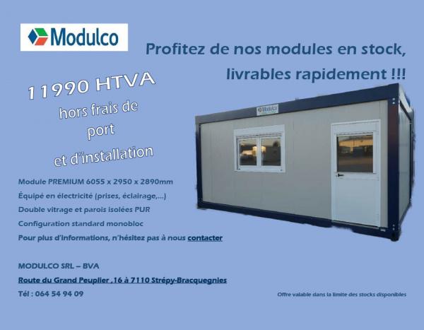 Module bureau de 600 x 300 cm || 9000,00€ ||
