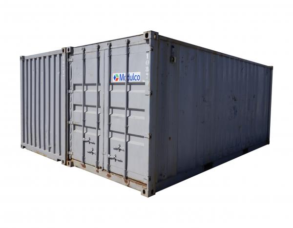 Assemblage de 2 containers de stockage || 3950,00 € ||