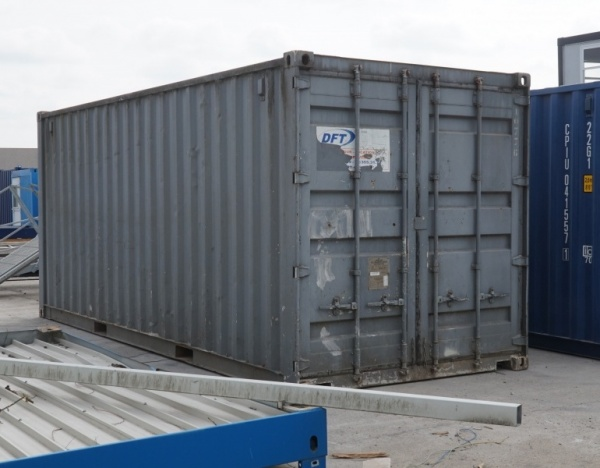 Opslagcontainer 20 feet -1.450,00 € (ref.10776)